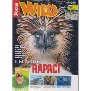 Focus Wild + Focus junior - n. 96 - luglio 2019 - 2 riviste