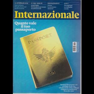 Internazionale - n. 1295 - 22/28 febbraio 2019 - settimanale