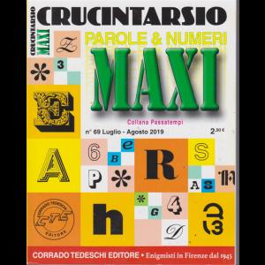 Maxi Crucintarsio - n. 69 - luglio - agosto 2019 - trimestrale -