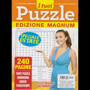 I Tuoi Puzzle edizione magnum - n. 2 - trimestrale - luglio - agosto - settembre 2019 - speciale estate - 240 pagine