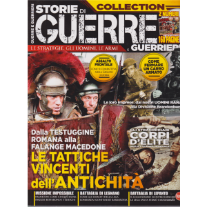 Storie di guerre e guerrieri collection - n. 4 - bimestrale - giugno - agosto 2019 -