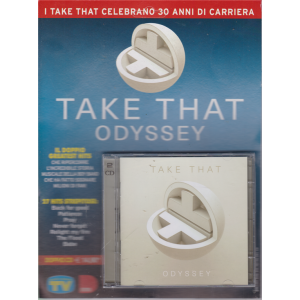 Cd Sorrisi Super n. 6 - 25/6/2019 - doppio cd - Take That odyssey -