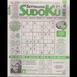 Settimana Sudoku - n. 724 - settimanale - 28 giugno 2019 -