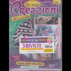 Album Di Casa - Le mie creazioni all'uncinetto - mensile - n. 74 - 3 riviste -