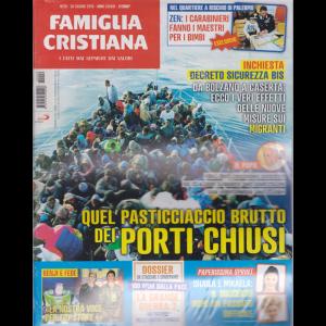 Famiglia Cristiana - n. 26 - 30 giugno 2019 - settimanale
