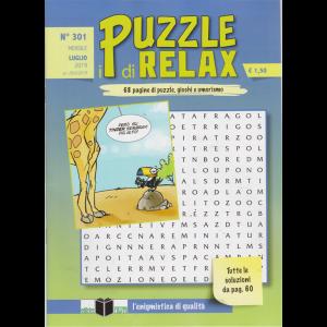 I Puzzle Di Relax - n. 301 - mensile - luglio 2019 - 68 pagine di puzzle, giochi e umorismo