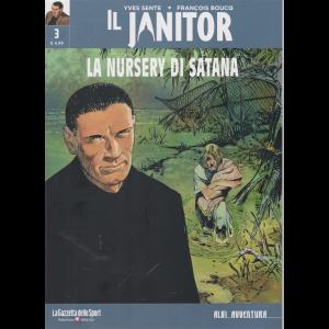 Albi Avventura - Il janitor - La nursery di Satana - n. 3 - settimanale