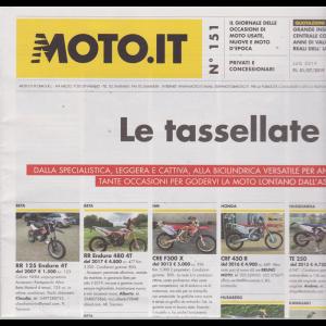 Moto.It - n. 151 - mensile - luglio 2019 -