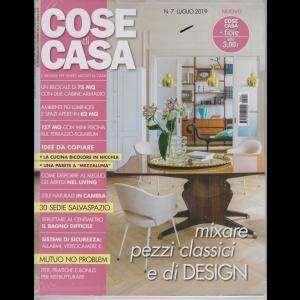 Cose Di Casa + - Casa In Fiore - n. 7 - luglio 2019 - mensile - 2 riviste