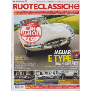 Ruoteclassiche + Ruoteclassiche belle d'estate - n. 367 - mensile - luglio 2019 - 2 riviste