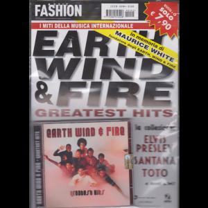 Music Fashion - Cd Earth Wind & Fire - n. 2 - rivista + cd - i miti della musica internazionale - 7 febbraio 2019 -