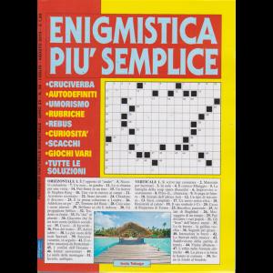 Enigmistica Piu' Semplice - n. 56 - bimestrale - luglio -agosto 2019 -