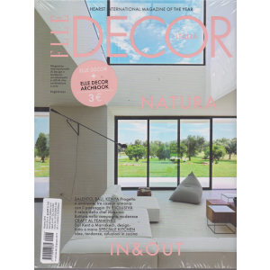 Elle Decor + Elle Decor Archbook - n. 6 - giugno 2019 - mensile - 2 riviste