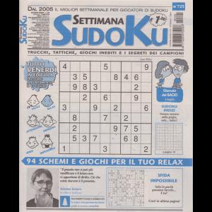 Settimana Sudoku - n. 725 - settimanale - 5 luglio 2019 -
