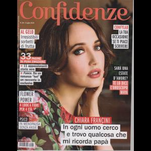 Confidenze - n. 28 - 2 luglio 2019 - settimanale