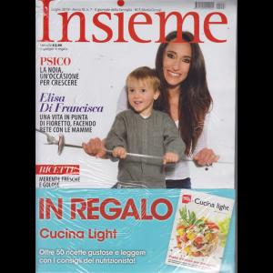 Insieme - Libro Cucina Light - n. 7 - luglio 2019 - mensile - 2 riviste