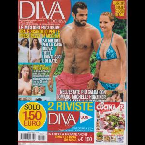Diva E Donna+ - Cucina - n. 27 - 9 luglio 2019 - settimanale femminile - 2 riviste