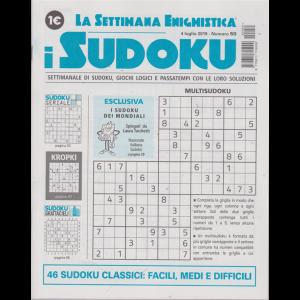 La settimana enigmistica - i sudoku - n. 50 - 4 luglio 2019 - settimanale
