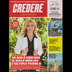 Credere - La Gioia Della Fede - n. 27 - settimanale - 7 luglio 2019 -