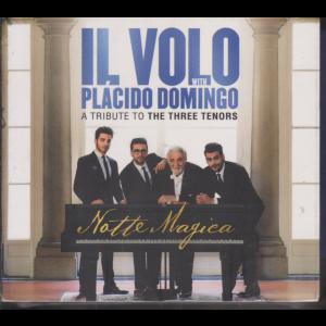 Cd Sorrisi Canzoni - Il Volo - Tributo Ai tre tenori - n. 16 - Placido Domingo - 2/7/2019 - settimanale - doppio cd + dvd - Notte magica
