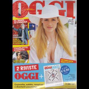 Oggi + Ogi enigmistica - n. 27 - 11/7/2019 - settimanale - 2 riviste