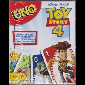 Mattel Fantasy Iniziative  -Toy story 4 - Carte UNO -n. 3 - mensile - luglio 2019 -