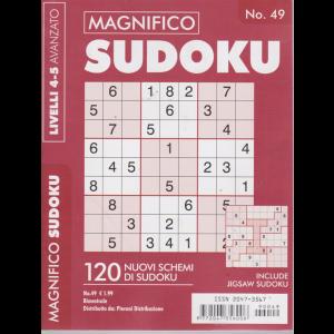 Magnifico Sudoku - n. 49 - bimestrale - livelli 4-5 avanzato