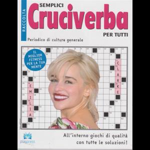 Raccolta semplici cruciverba  per tutti - n. 31 - bimestrale - 4/7/2019 - Emilia Clarke