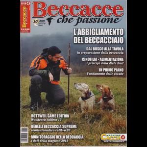 Beccacce che passione - n. 4 - bimestrale - luglio -agosto 2019 -