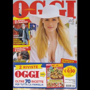 Oggi + Oggi cucino - n. 27 - 11/7/2019 - settimanale - 2 riviste