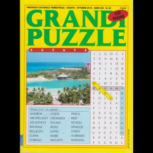 Grandi Puzzle - n. 83 - trimestrale - agosto - ottobre 2019 - 100 pagine - estate