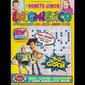 Pianeta Junior Enigmistico - n. 6 - bimestrale - luglio -agosto 2019 -