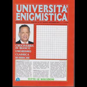 Università enigmistica - n. 110 - bimestrale - agosto - settembre 2019 -