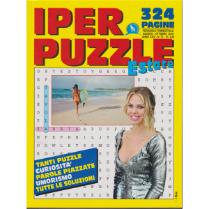 Iper Puzzle  estate- n. 70 - trimestrale - agosto - ottobre 2019 - 324 pagine