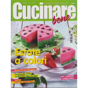 Cucinare Bene - n. 8 - agosto 2019 - mensile -