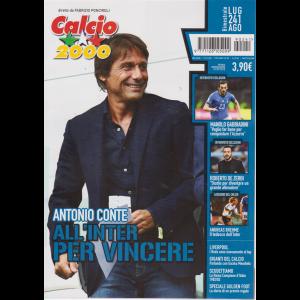 Calcio 2000 - Antonio Conte - n. 241 - luglio - agosto 2019 - bimestrale -