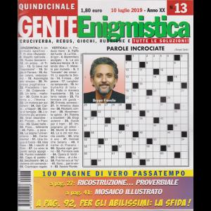 Gente Enigmistica - n. 13 - 10 luglio 2019 - quindicinale - 100 pagine di vero passatempo