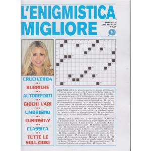 L'enigmistica Migliore - n. 94 - bimestrale - agosto - serttembre 2019 -