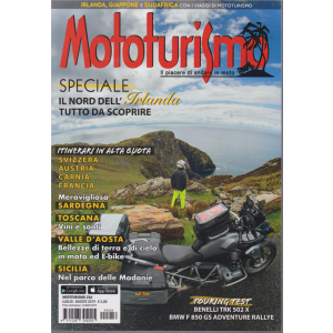 Mototurismo - n. 256 - luglio -agosto 2019 - bimestrale -