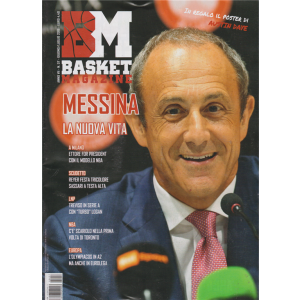 Basket Magazine - n. 57 - giugno - luglio 2019 -