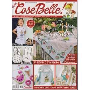 Nuove Cose Belle - n. 7/8 - luglio - agosto 2019 - mensile