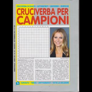 Cruciverba Per Campioni - n. 101 - bimestrale - agosto - settembre 2019 -