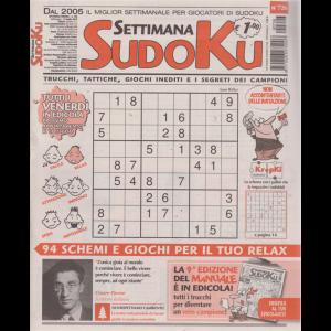 Settimana Sudoku - n. 726 - settimanale - 12 luglio 2019 -