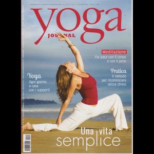 Yoga Journal - n. 135 - mensile - luglio - agosto 2019 -