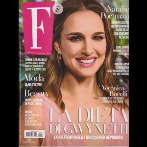 F - n. 28 - settimanale - 16 luglio 2019 -