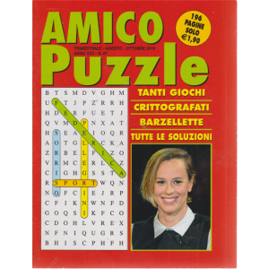 Amico Puzzle - n. 87 - trimestrale - agosto - ottobre 2019 - 196 pagine