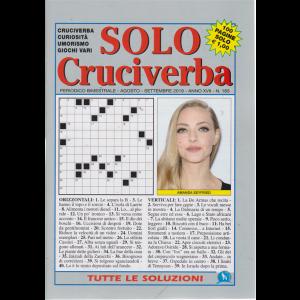 Solo Cruciverba - n. 183 - bimestrale - agosto - settembre 2019 - 100 pagine