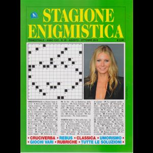 Stagione Enigmistica - n. 99 - trimestrale - agosto - ottobre 2019 -