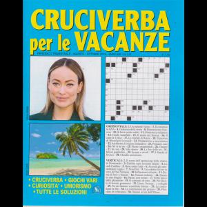 Cruciverba Per Le Vacanze - n. 212 - trimestrale - agosto - ottobre 2019 -