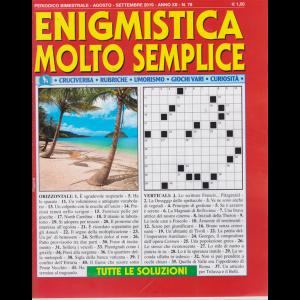 Enigmistica Molto Semplice - n. 78 - bimestrale - agosto - settembre 2019 -